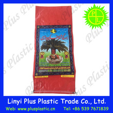 Laminated PP rice bags of 25kg / 25 kg pp woven bag for fertilizer seed flour packing bag