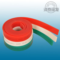 Screen Printing Squeegee Rubber/Polyurethane Squeegee Blade/PU Squeegee Blade for Silk Screen Printing