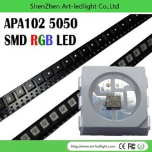 digital color led strip APA102 bar in stool parts with ce rohs