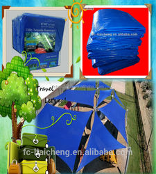 High Quality Durable Flexible Clear Plastic Sheet PE Tarpaulin For Camping Trailer Awning Tent