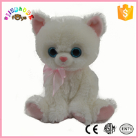 2015 Couple WITH TIE life sized magnetic musical alpaca canned custom made dancing Plush Valentines CAT Sitting