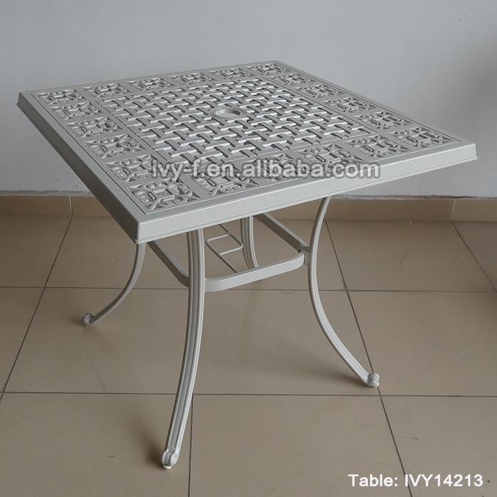 foshan terrasse möbel im freien Ø gießen von aluminium esstisch 4, Esstisch ideennn