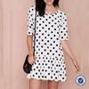 china imports women's clothing fashion new dresses woman polka dot dress summer dress
