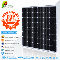 220w Monocrystalline solar module high efficiency fiexible solar panel china price with all certificates