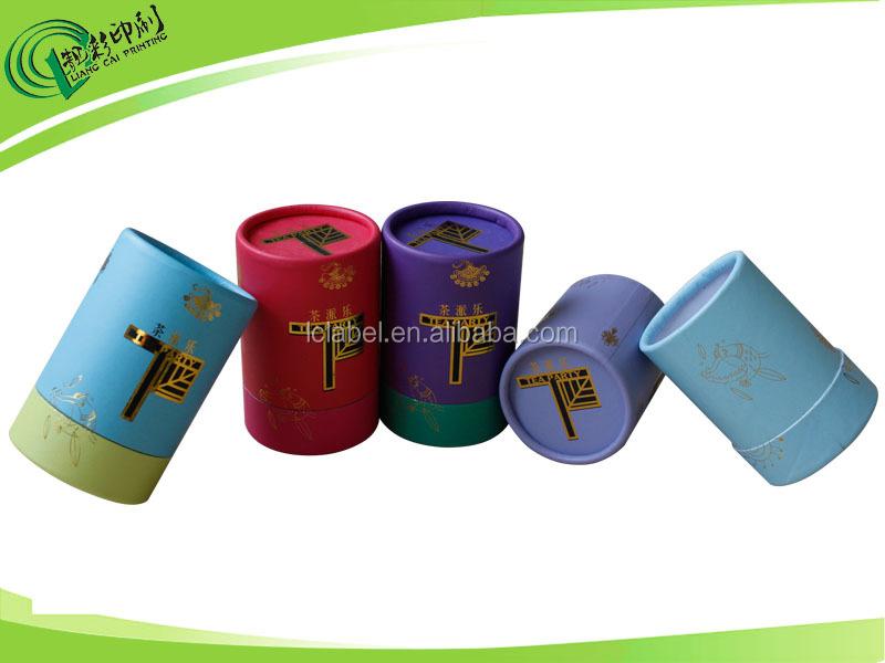 Custom paper tube packaging, cardboard tube packaging, paper packaging box for gift