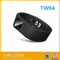 2015 New Hot TW64 Smart band Smart Sport Bracelet Wristband Fitness Tracker Bluetooth 4.0 Fitbit Flex Watch For Ios Android