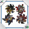 3D PP/PS plastic puzzle spinning top toy , spinning top 3d puzzle card