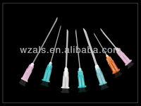 disposable parts hypodermic needle