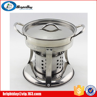 Resturant chafing dish small stainless steel alcohol stove