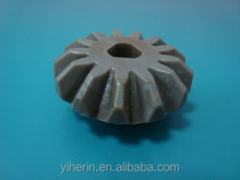 custom plastic injection mould for plastic warm gear/toothed gears oem plastic injection molded parts