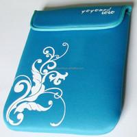 OEM & ODM 2015 wholesale neoprene laptop bag/sleeve without zipper
