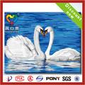 2014 la venta caliente cisnes de pintura al óleo sobre lienzos
