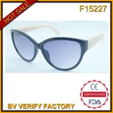 F15227 new model simple style cat eye sunglasses suitable all ages