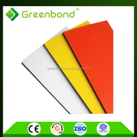 Greenbond pvdf aluminium composite panel for shower foil decoration with factory price