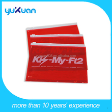 A4 clear plastic waterproof pvc pouch for documents