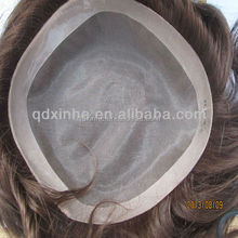 Indian Remy Human Hair Toupee /Wig for Men