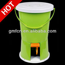 2015Newest and hot sale used commercial laundry single tub baby clothes portable mini car washing machine