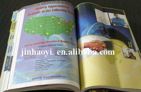 shenzhen telephone directory,perfect binding telephone directory,High Quality telephone directory