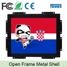 "1000 nits Outdoor Open frame 19"" lcd monitor with VGA DVI input"