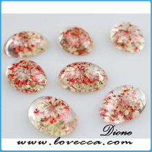 Most popular style resin preserved flowers for jewelry, real pressed flower pendant, pressed flower earrings