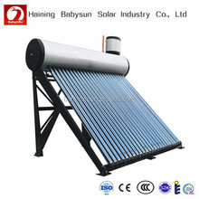 2015 hot sales solar water heater, solar boiler (China factory & manufacturing) Used in Bathroom for European Market.