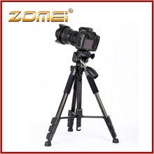 Zomei Z666 CE certificado profesional tripode camara video portátil 1.45m ligero de aluminio de buen precio