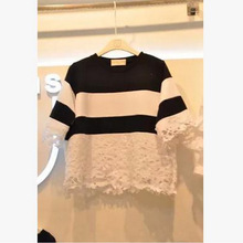 Custom OEM good quality mojo cotton & hemp women t-shirt for summer el flashing t-shirts beauty women t-shirt
