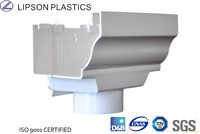 Lipson PVC Pipe Fittings PVC Rain Gutter Concrete Gutters