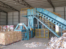 HOT SALE IN 2014!!! Horizontal hydraulic automatic soft film compress baler machine for sale