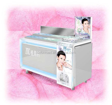 contemporary spray booth make up display units with drawer.