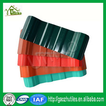 Easy installation spanish pvc roofing tile red color roof for poultry house made in China