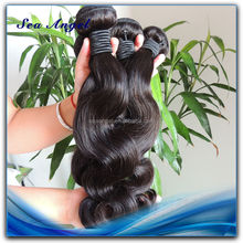 6A Quality Natural Color Remy Hair Weaving 99J