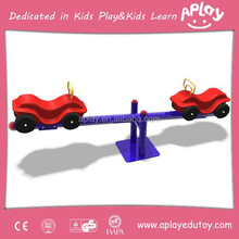 Jeep car motorcycle race children seesaw used for Park Kids rider Garden and Amusement teeterboard AP SS0023