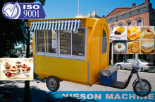 Tricycle fast Food Cart food bike motorcycle
