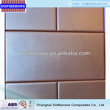 30x60cm leather texture fiberglass SMC wall ceiling