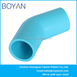 BOYAN pvc thailand pipe fitting 45 degree elbow