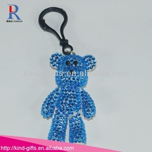 Wholesale Rhinestone Cheap Teddy Bear With Keychain Manufacturers