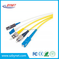 Factory Price Mpo Fiber Optic Patch Cord / Jumper With High Quality