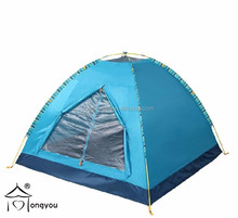 3 person single layer camping tent outdoor waterproof canvas tent