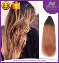 peruvian weave straight hair perm ombre colored hair weave made in china