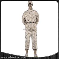 Army Digital Desert Military Camouflage ACU Uniform desert suit
