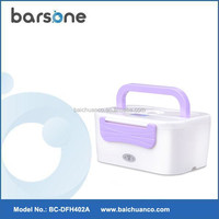Detachable School/Office Use Plastic Lunch Box With Handle