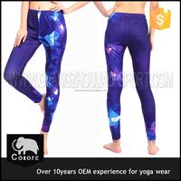 Wholesale purple sport wear sex yoga pants