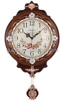 fresh style and countryside feeling lovely wall clock for indoor decor or giftsYL