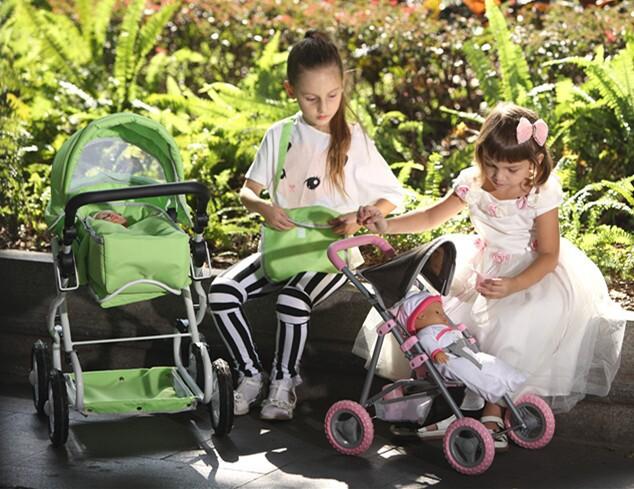 Plus grand belle poussette pour petite fille doll pram autres jouets loisirs id de produit - Landau pour grande fille ...