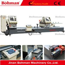 High Precision CNC double head cutting saw machine for aluminum