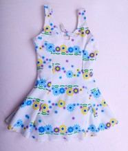 Latest Fitness One Piece Dress Junior Bathing Suits