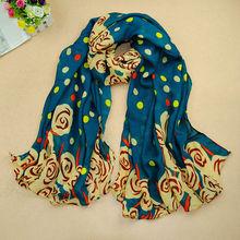 Women fashion Scarf Scrawl Cloud Air Bubble Printed Scarfs Women Popular 180*110 Scarves Pashmina shawls