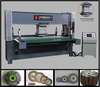 Low priced Flap Wheel / Thousand Pages Wheel / Sand Paper Wheel cutting machine