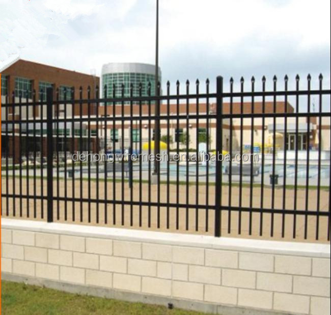 Competitive price iron fence prefabricated ornamental